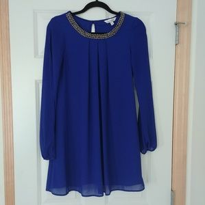 Speechless | Blue Beaded Dress | Size 3